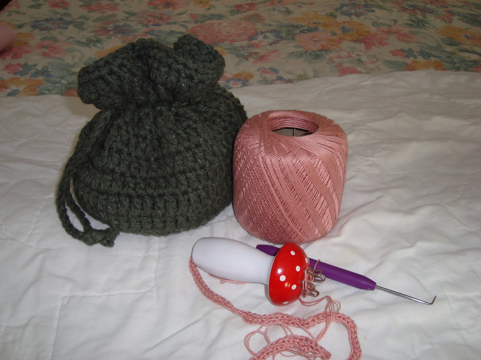 Dream Catcher Earrings Crochet Pattern | Red Heart