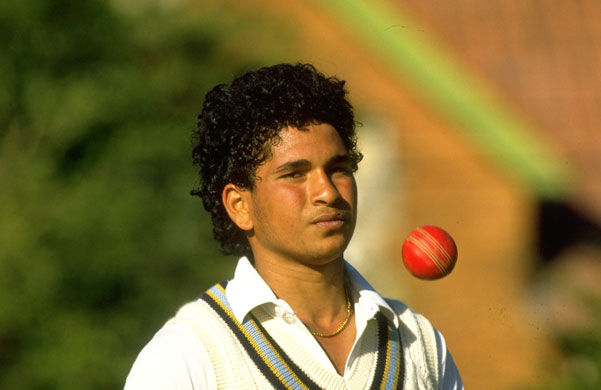 Sachin Tendulkar: Sachin Tendulkar early days