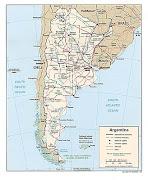 meta esta clara como el agua y es llegar a Argentina si o si. argentina political map