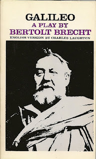 essays on the play galileo by bertolt brecht
