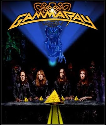 Στις φλόγες τυλίχτηκε το στούντιο των Gamma Ray Gamma_Ray_Blog