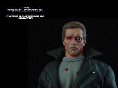 T 800 Terminator ... Studio: 1/6th Scale Action Figures: The Terminator T-800 (1984
