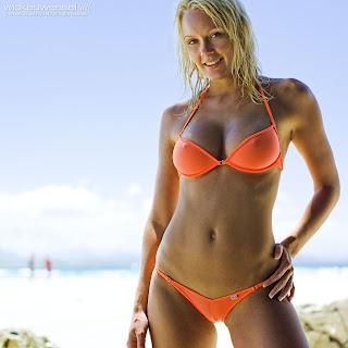 Super Hot Bikini Model BROOKE