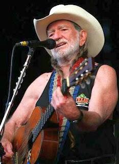 American  singer-songwriter Willie Nelson