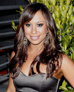 Cheryl Burke Hot photos in black top