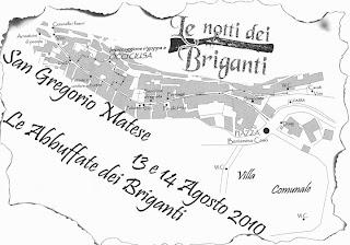 Mappa de Le Notti dei Briganti 2010 a San Gregorio Matese