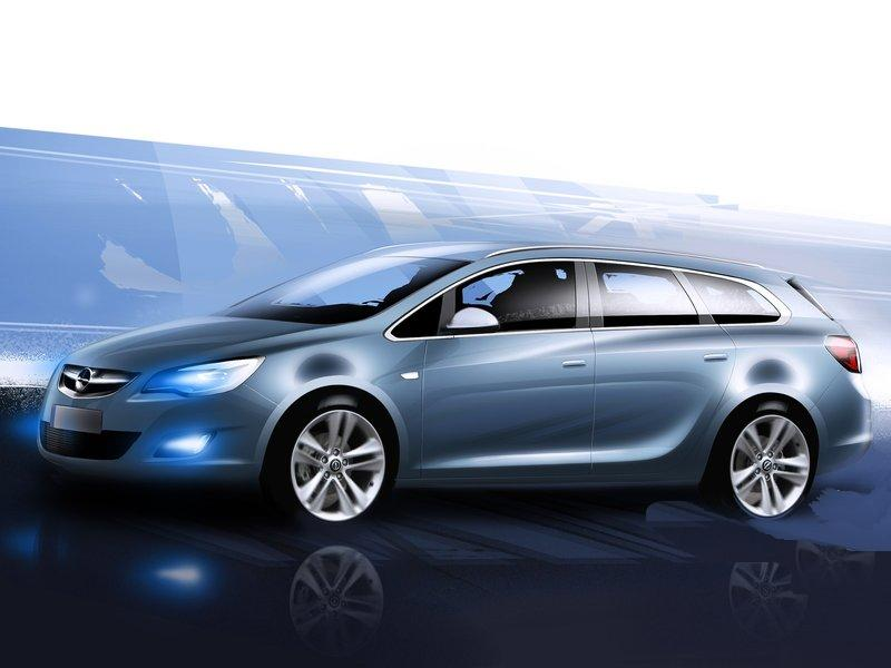 Opel Has Revealed The 2011 Astra Sports Tourer At The Paris Motor Show, The  Second Variant Of Its New Version Of The Astra. The German Manufacturer  Aims For ...
