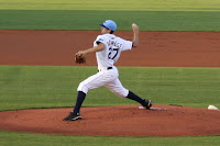 Nick Barnese pitched 6 1/3 strong innings, striking out 5 in the process.  For pictures from the game, click on the photo.
