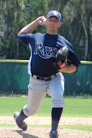 Kirby Yates made his first pro start in game two of the doubleheader on Saturday.