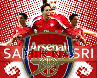 Wallpaper Samir Nasri