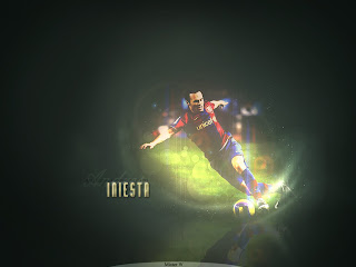Wallpaper Andres Iniesta