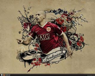 Wallpaper Rio Ferdinand