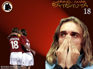 Wallpaper Gabriel Batistuta