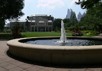 Fuqua Conservatory and the Great Lawn