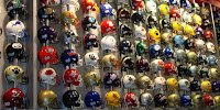 Georgia Dome High School Helmet Collection