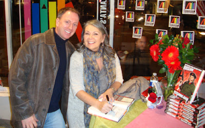 Travis with Roseanne Barr