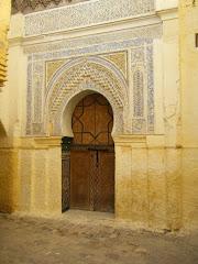 La porte à côté du riad