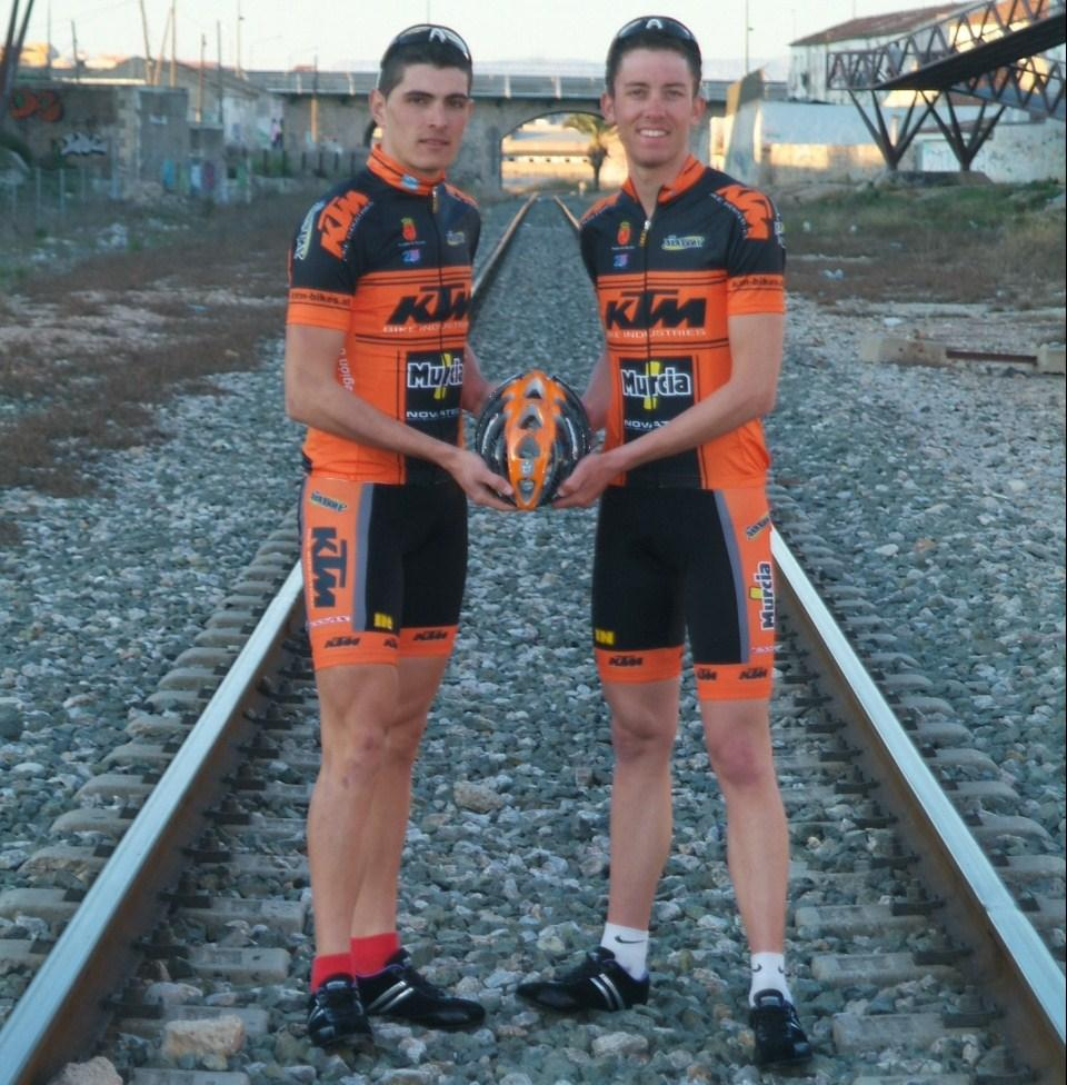 El KTM Bikes-Región de Murcia se presenta en Torreagüera (Murcia)