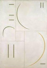 Curves, 1938, oil on panel, 101.8 x 70.5 cm