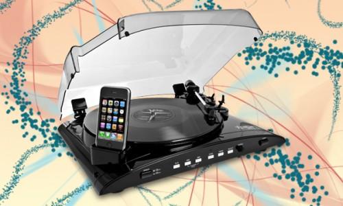 Blogtech plato tocadiscos usb para ipod - Plato discos vinilo ...