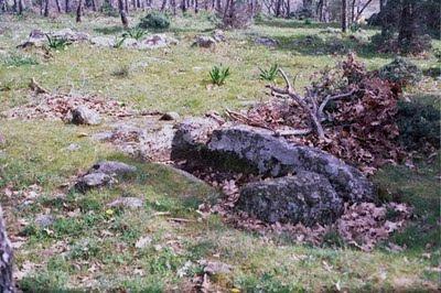Una de las tumbas del anecrópolis más vistosas