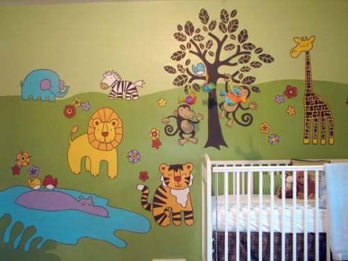 Animal Theme Baby Rooms Ideas