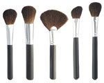 Pure Kolinsky Makeup Brush Set