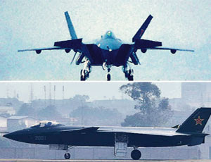 New Chinese Stealth Fighter Plane Sighted