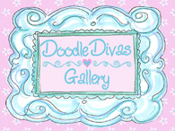 I was the Featured Diva at Karens Doodles!