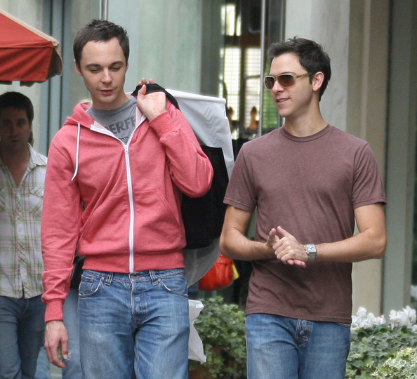 jim parsons shirtless. Jim Parsons and Todd Spiewak