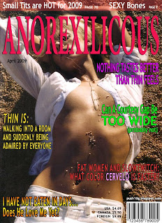 Anorexilicious Magazine: Your Source of Skinny, Tan, Wide Courtesy <br />Gaps, and Long Blonde Hair