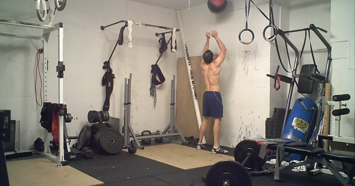 Elgin garage gym sunday november crossfit couplet