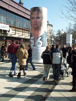 Udvaros Dorottya színésznő Szabadság út 2005
