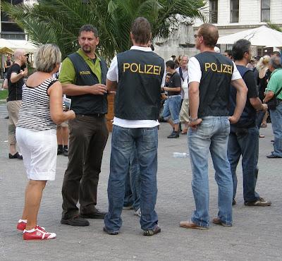 Polizei gegen Sturm Graz.Budapest, Honved