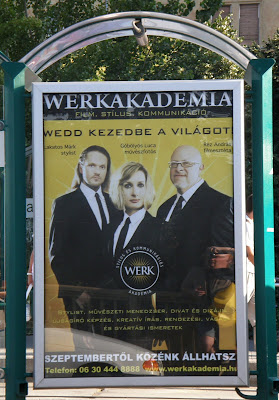 Lakatos Márk, Réz András, Göbölyös Luca, Werk Akadémia, plakát