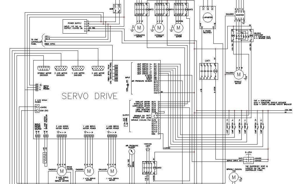 cnc machines cnc wiring diagram