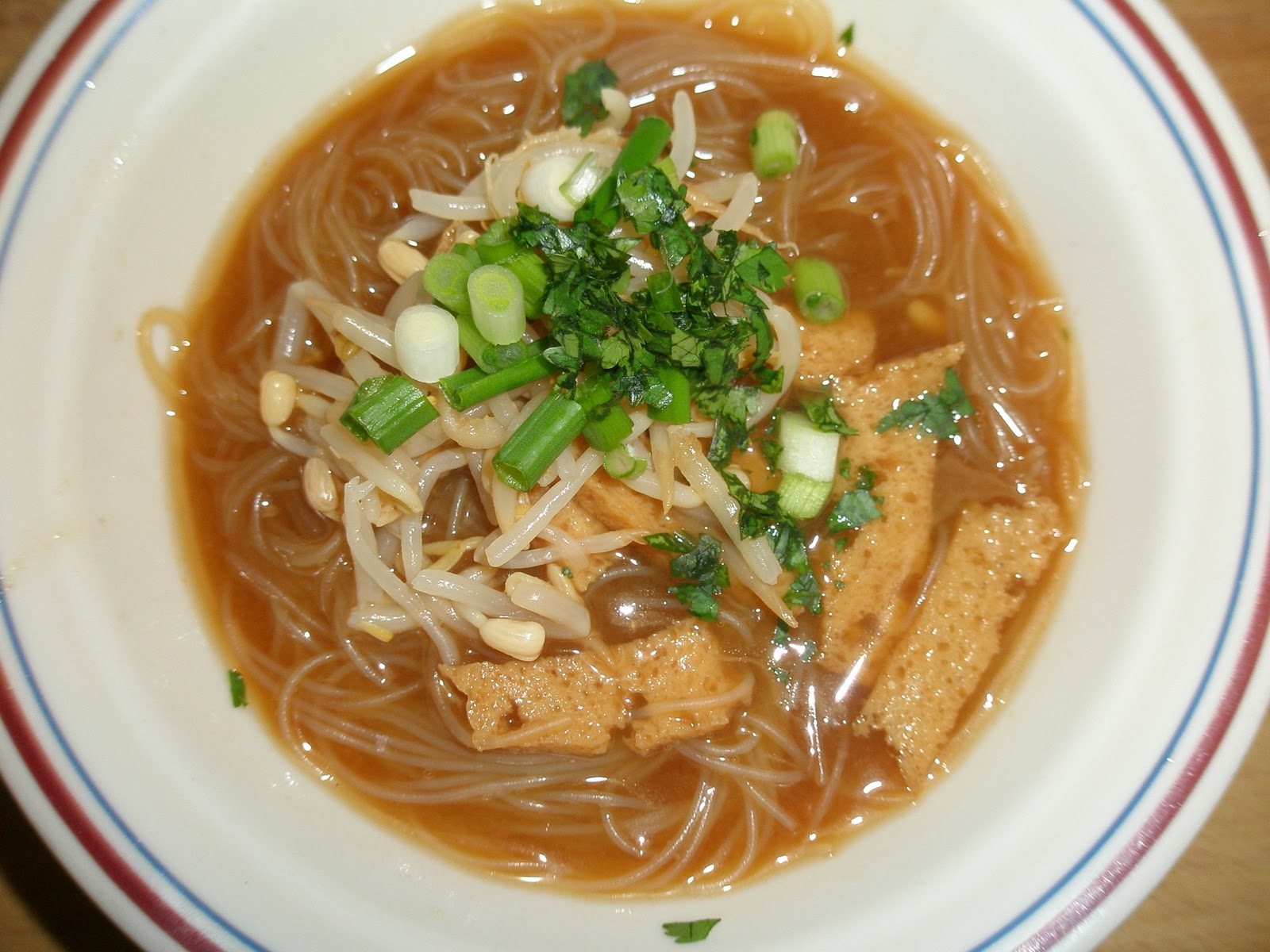 My Adventures Testing 1000 Vegan Recipes: Vietnamese-Style Noodle Soup