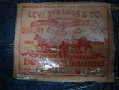 Tag Levis circa 1954