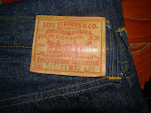 Levis Leather Tag  circa 1945
