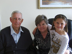 Mom, Dad and their grandchild Danike