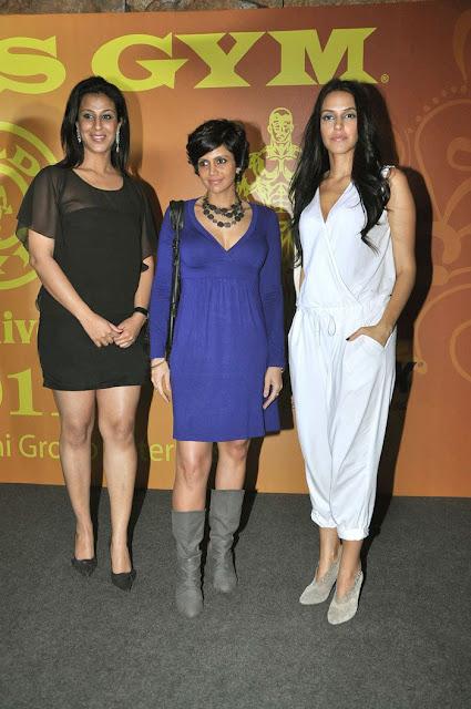 Mandira Bedi, Neha Dhupia launches Gold Gym calendar