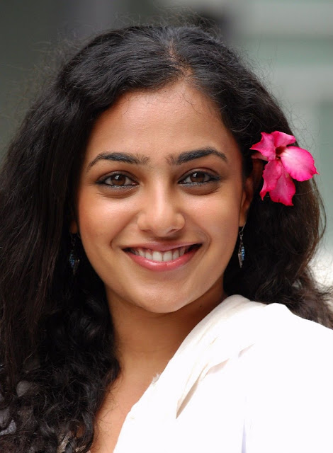 Nitya Menon still from her latest Telugu Movie Ala Modalaindhi