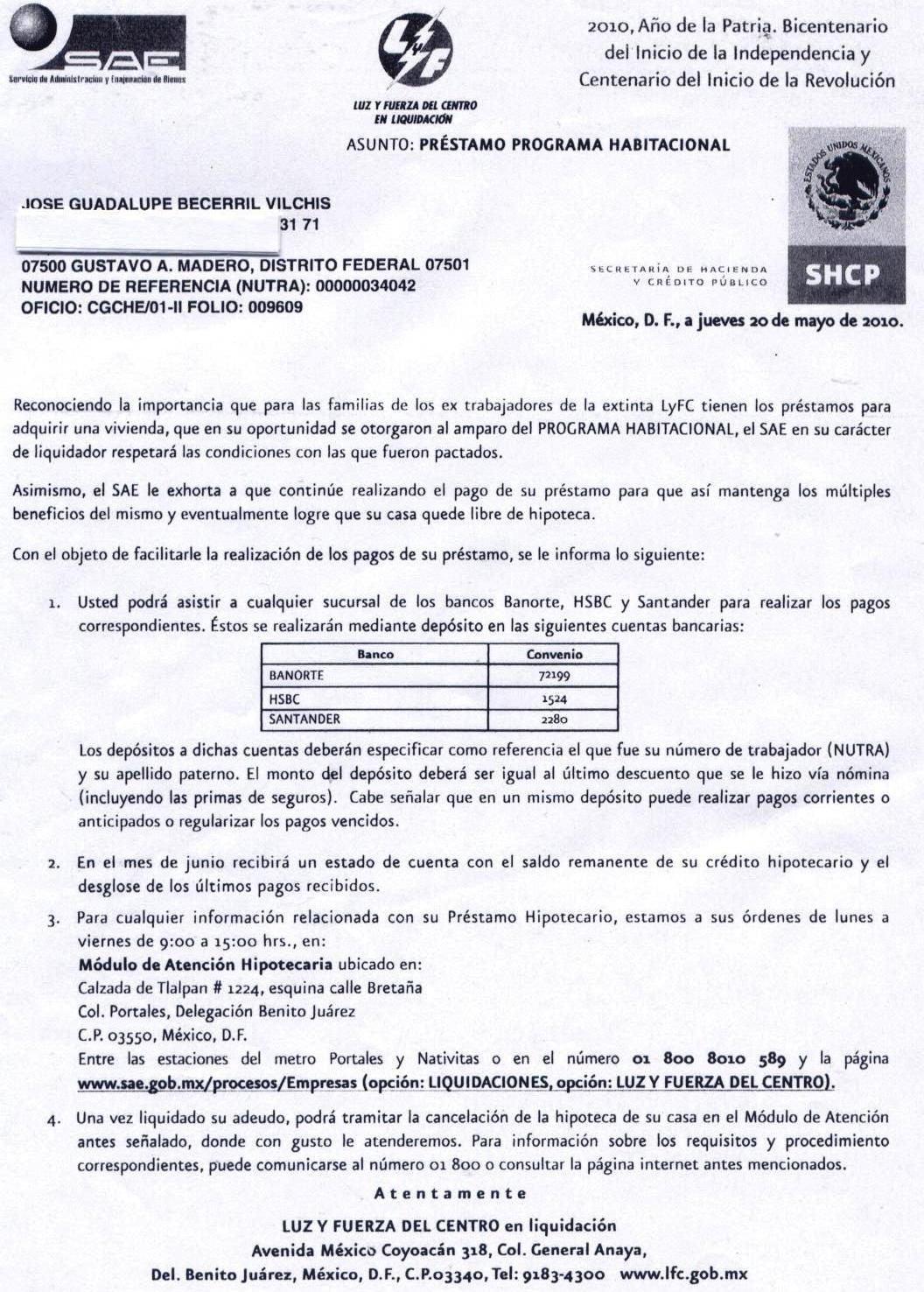 Sindicato Mexicano de Electricistas (Blog): 14-jun-2010