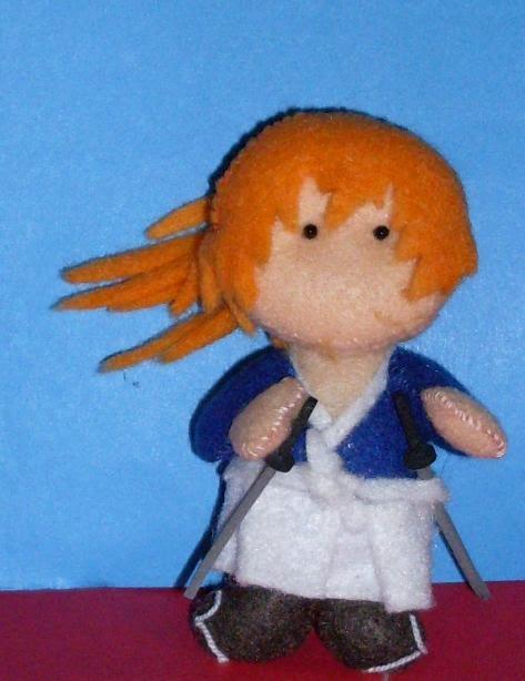 Chibi dolls: Battousai el destajador
