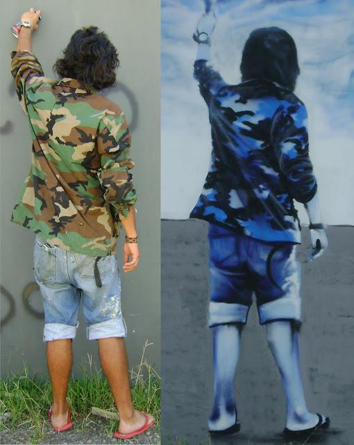 graffiti de izak en brasil
