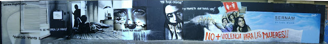 graffiti de izak para sernam en antofagasta, chile