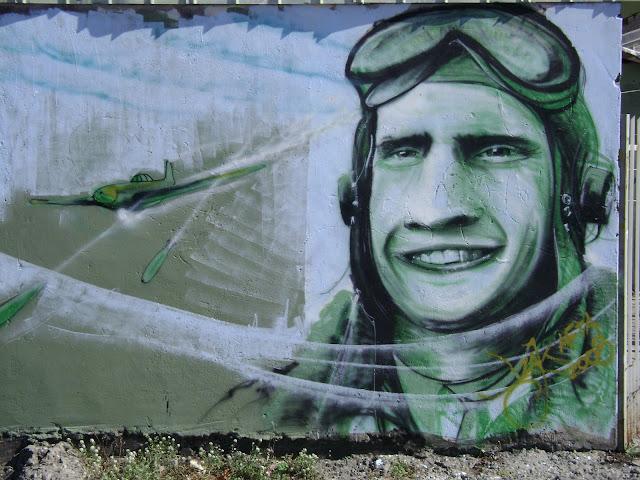 graffiti de izak en concepcion, chile