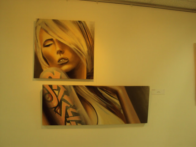 expo de graffiti de izak, antofagasta, chile