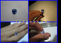 [GEMPIECE] SUPER GLITERRING NATURAL BLUE SAFIR