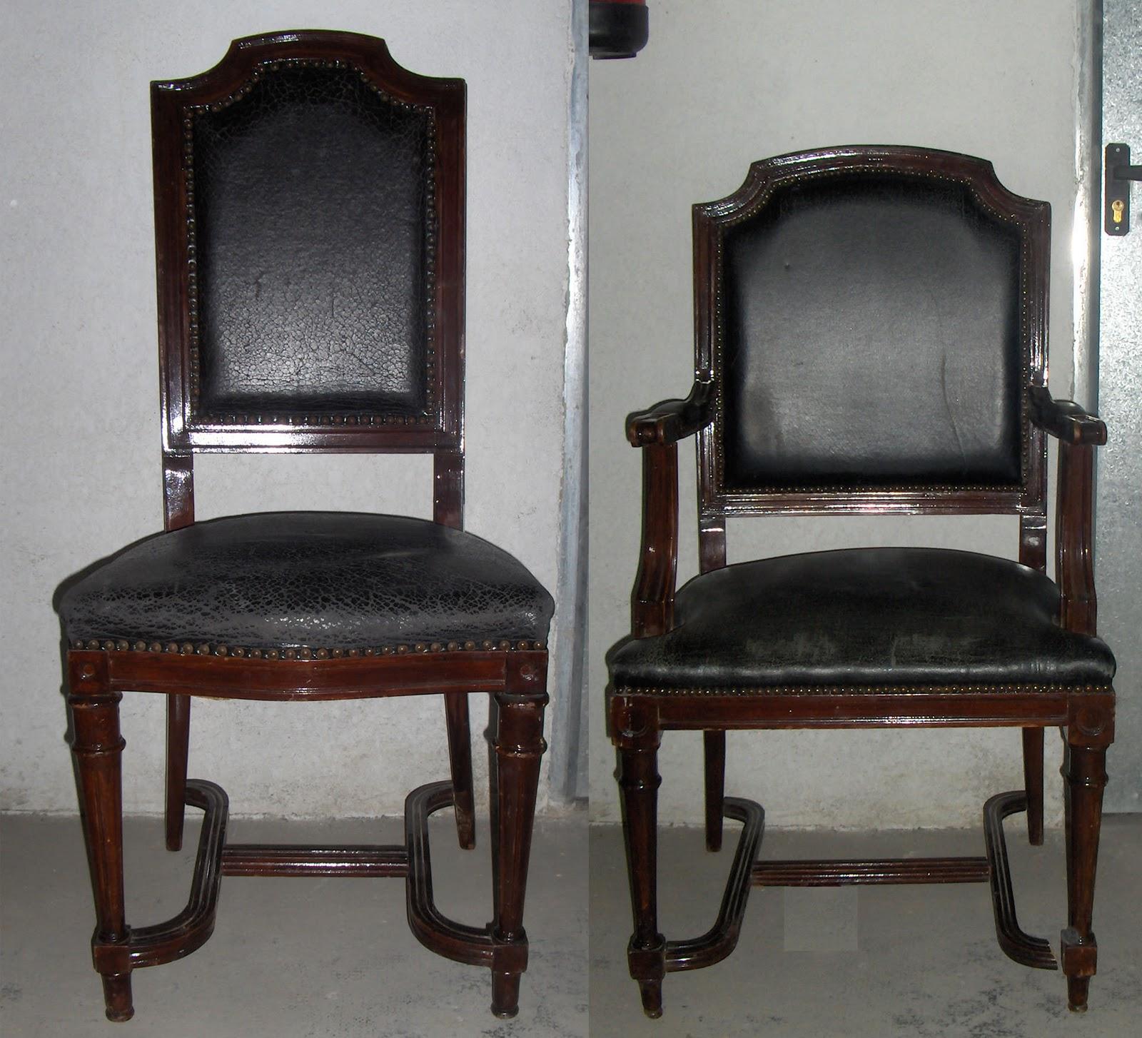 El rastro de segunda sillas antiguas de cuero - Sillas antiguas de segunda mano ...